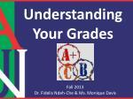 Understanding Your Grades