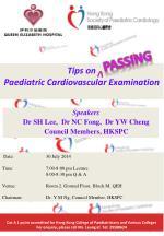 Tips on Paediatric Cardiovascular Examination