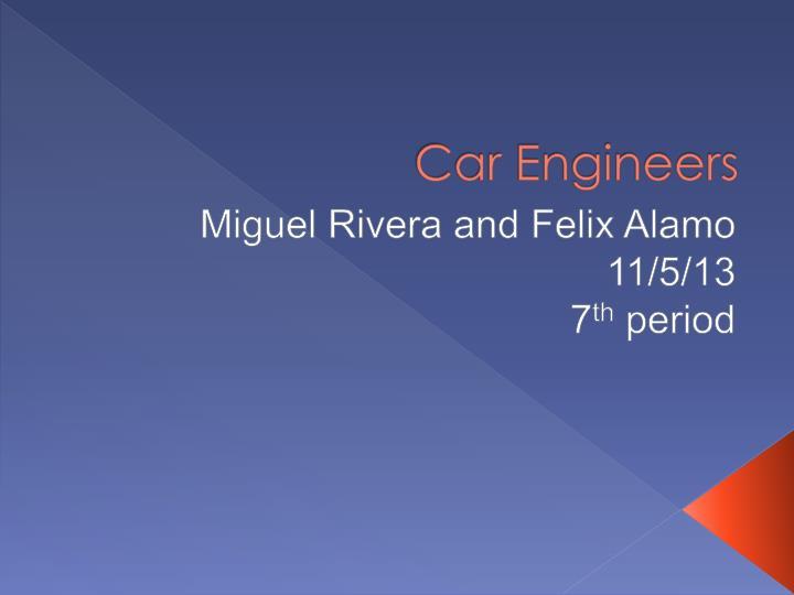 car engineers n.