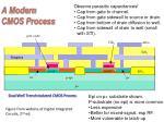 A Modern CMOS Process