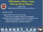 Stephen Hill NHMFL and Florida State University, Physics
