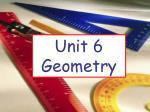 Unit 6 Geometry