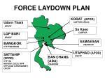 FORCE LAYDOWN PLAN