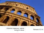 Extreme makeover..radical living for Jesus