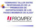 CREACION DE PROMPEX (1996)
