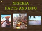 Nigeria  Facts and info