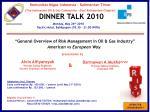DINNER TALK 2010