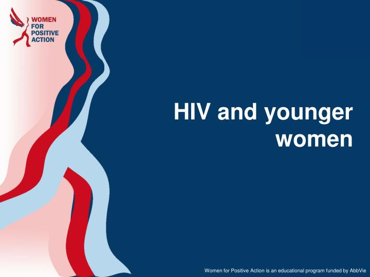 hiv and younger women n.
