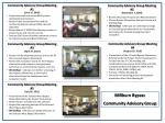 Community Advisory Group Meeting #1  (June 16, 2009)