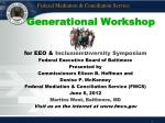 Generational Workshop