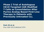 Park JH et al. Proc ASH 2013;Abstract 874.