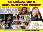 ESTRATÉGIAS PARA O GERENCIAMENTO DO ESTRESSE