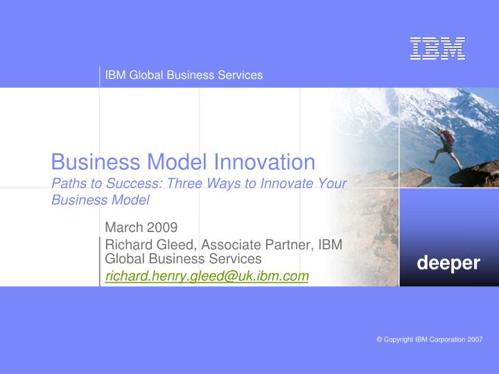 business model innovation paths to success three ways to innovate your business model n.