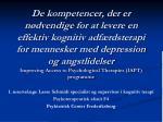 1. reservelæge Lasse Schmidt specialist og supervisor i kognitiv terapi