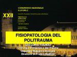 FISIOPATOLOGIA DEL POLITRAUMA