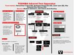 Toshiba's goal is to achieve100% test coverage on all products.