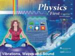 Vibrations, Waves and Sound