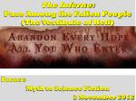 The Inferno: Pass Among the Fallen People (The Vestibule of Hell)