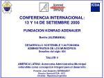 Ponente: José Alejandro BERNHARDT Director General ICDA - UCC Córdoba - República Argentina