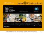 QUINTA REUNIÓN DE CALIDAD Y PRODUCTIVIDAD DE LA VIVIENDA – MINURVI ARGENTINA 2012