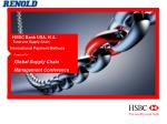 HSBC Bank USA, N.A. Trade and Supply Chain