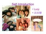 Self-Introduction
