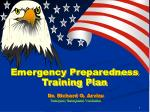 Emergency Preparedness Training Plan
