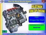 PELATIHAN TUNE-UP ENGINE
