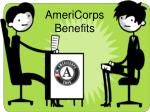 AmeriCorps Benefits