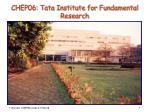 CHEP06: Tata Institute for Fundamental Research