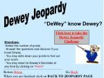 Dewey Jeopardy
