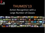 THUMOS'13  Action Recognition with a Large Number of Classes
