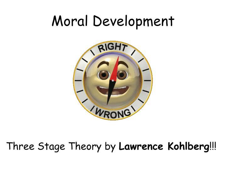 moral development n.