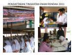 PENDAFTARAN TINGKATAN ENAM RENDAH 2011