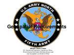 Geospatial Requirements