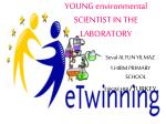 YOUNG environmental SCIENTIST IN THE LABORATORY