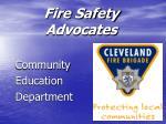 Fire Safety Advocates