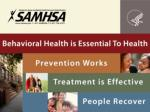 PROMOTING BEHAVIORAL HEALTH STRATEGIES FOR HBCUs AND COMMUNITIES