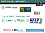 Streaming Video @
