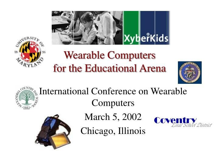 wearable computers for the educational arena n.