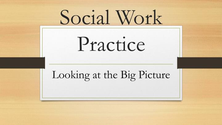 social work practice n.