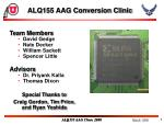 ALQ155 AAG Conversion Clinic