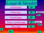 Leggi di Mendel