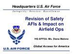 HQ AFFSA: Ms. Diana Malone