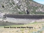 Snow Survey and Water Supply