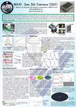 MAXI Gas Slit Camera (GSC) T. Mihara, M. Sugizaki, M. Kohama, and behalf of MAXI Team