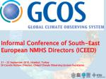 GCOS – an all domain system: Continuous Improvement and Assessment Cycle