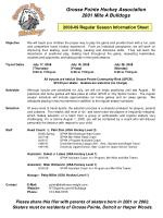Grosse Pointe Hockey Association 2001 Mite A Bulldogs