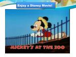 Enjoy a Disney Movie!