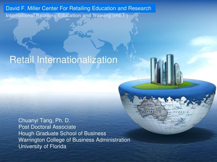 retail internationalization n.